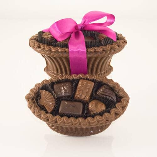 Chocolate Easter Baskets w/Chocolates