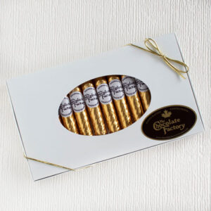 Chocolate Gold Foil Cigars