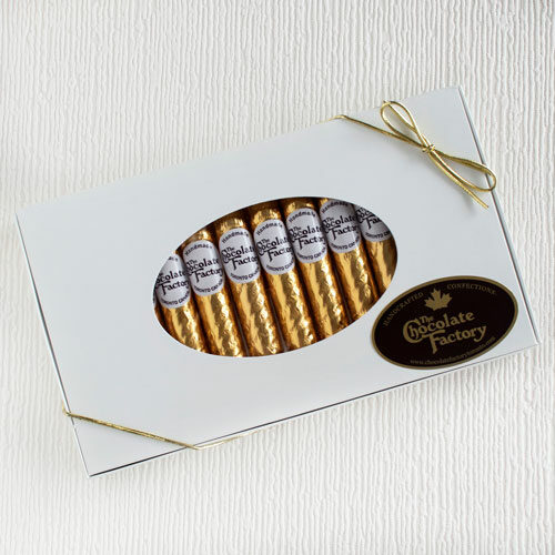 Gold Foil Chocolate Cigars