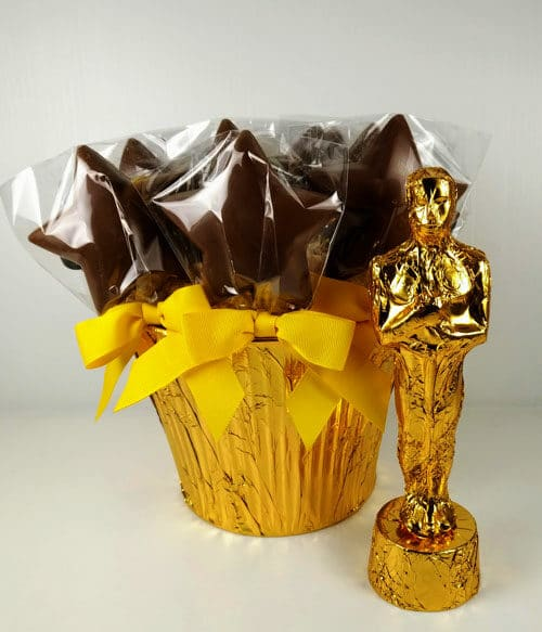 Chocolate Gold Statue