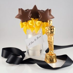 Gold Foil wrapped Chocolate Statue
