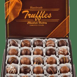 25 Pc. Classic Truffles