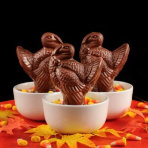 Chocolate Turkey Table Favours