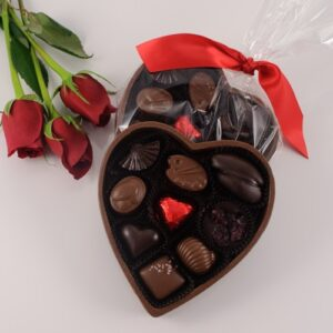 Chocolate Open Heart Box