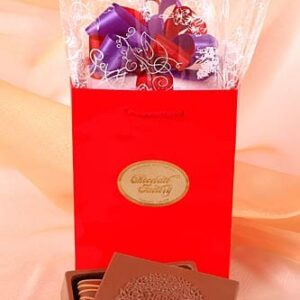 "Chocolate ""Happy Anniversary"" Greeting Card Box"