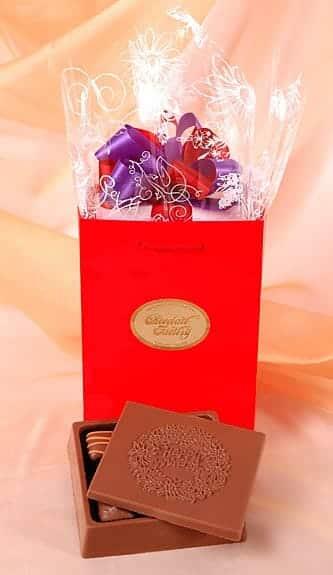 Chocolate Anniversary Greeting Box