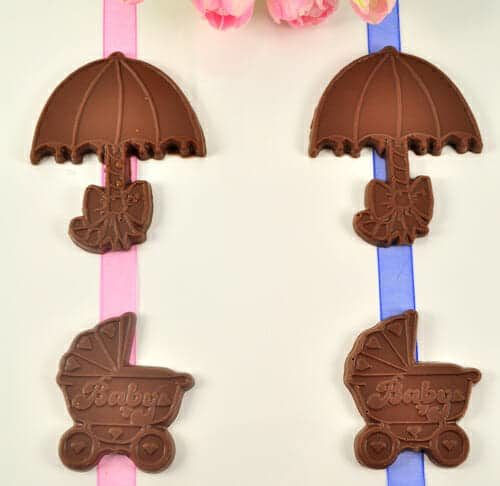 Chocolate Baby Carriages & Umbrellas
