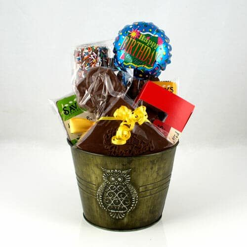 Happy Birthday Chocolate Gift basket