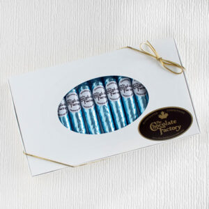 Chocolate Blue Foil Cigars