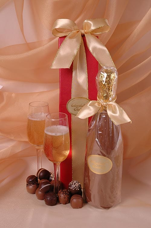 Chocolate Champage Bottle