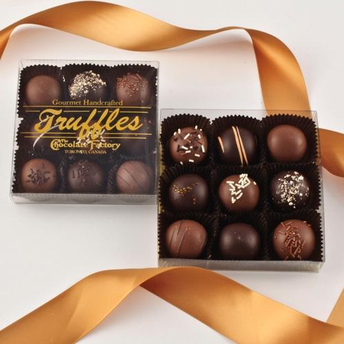 9 Pc. Classic Truffle Gift Box