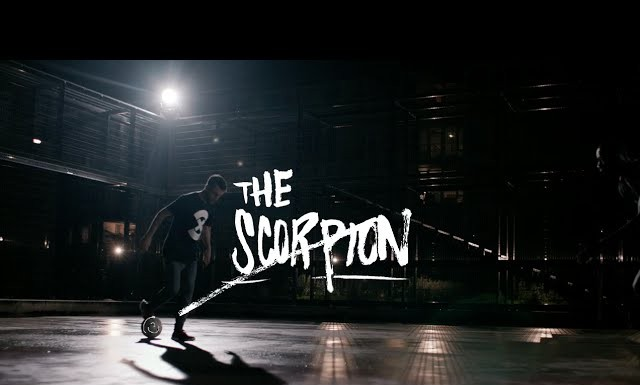 Nordon Stitou demos the Scorpion for Nike FootballX.