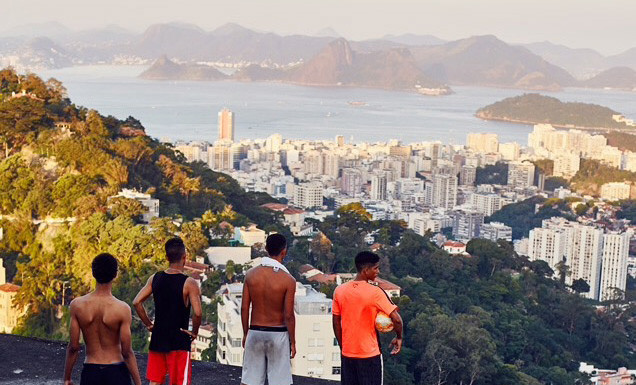 Street Football in Rio