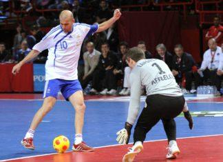 Zinedine Zidane futsal