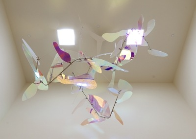 Sojourner Family Peace Center Hanging Sculpture