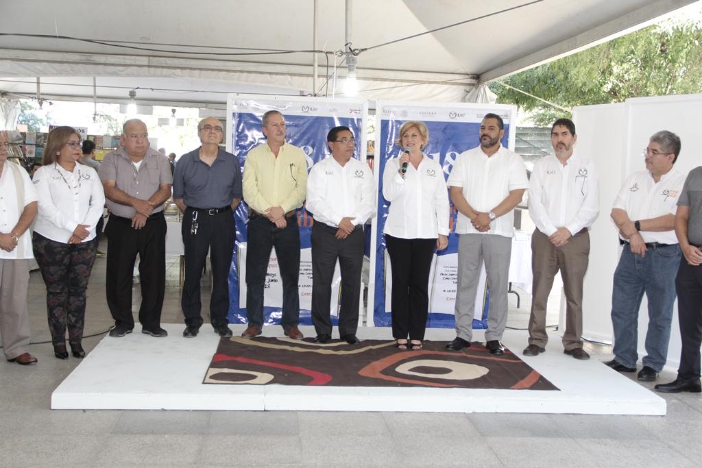 Inauguran Feria Universitaria del Libro 2018