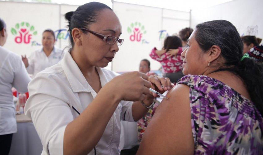 Dispondrá Tamaulipas de 470 mil vacunas anti influenza: Secretaria de Salud.