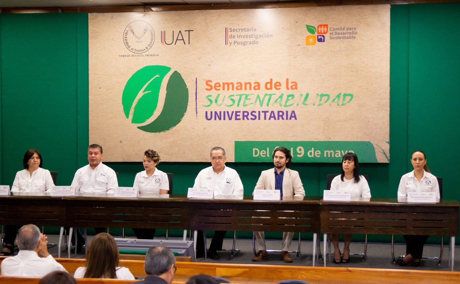Promueve UAT acciones para la sustentabilidad y el medio ambiente
