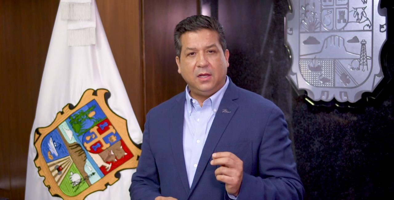 Gobernador de Tamaulipas anuncia nuevas medidas preventivas ante incremento de contagio