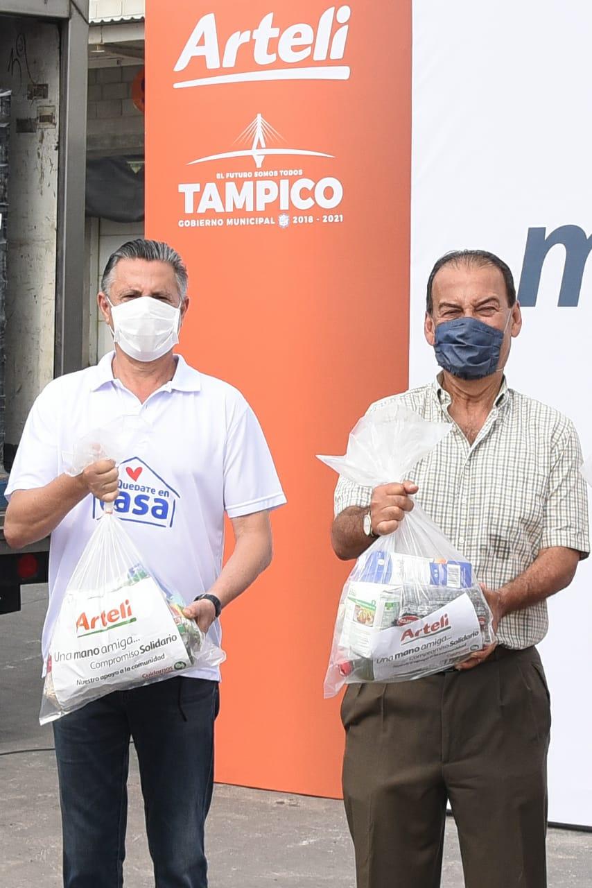 En Tampico Ayuda de Arteli se duplicará: Chucho Nader