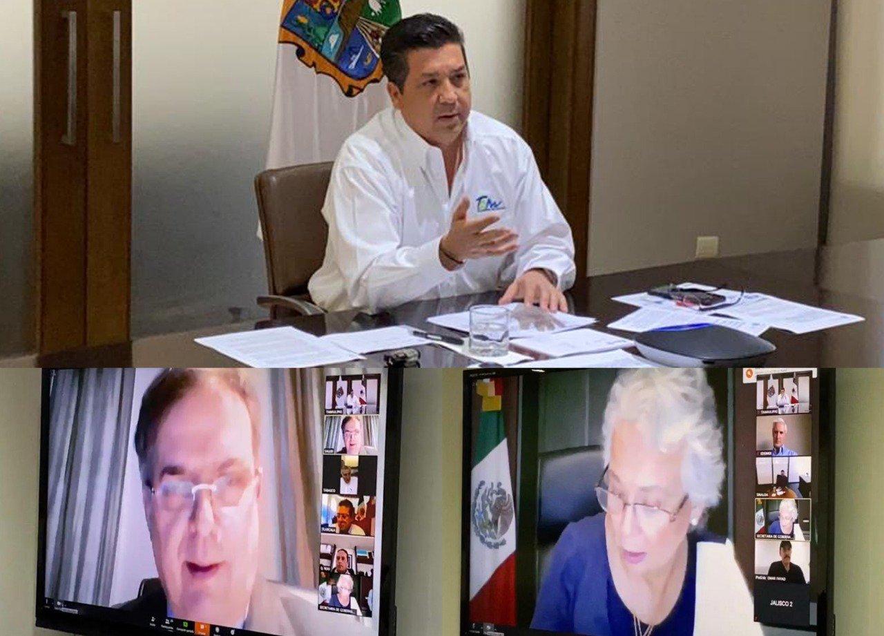 Llama Gobernador de Tamaulipas a implementar medidas en la frontera ante COVID- 19