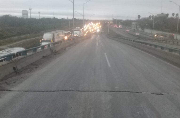 Informa Gobierno de Reynosa sobre cierre de carreteras y puentes