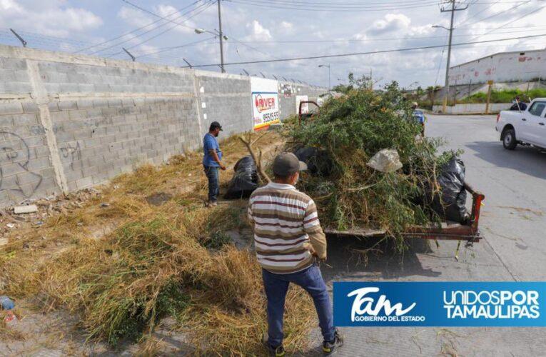 Mejora imagen urbana de Reynosa el Gobierno de Tamaulipas