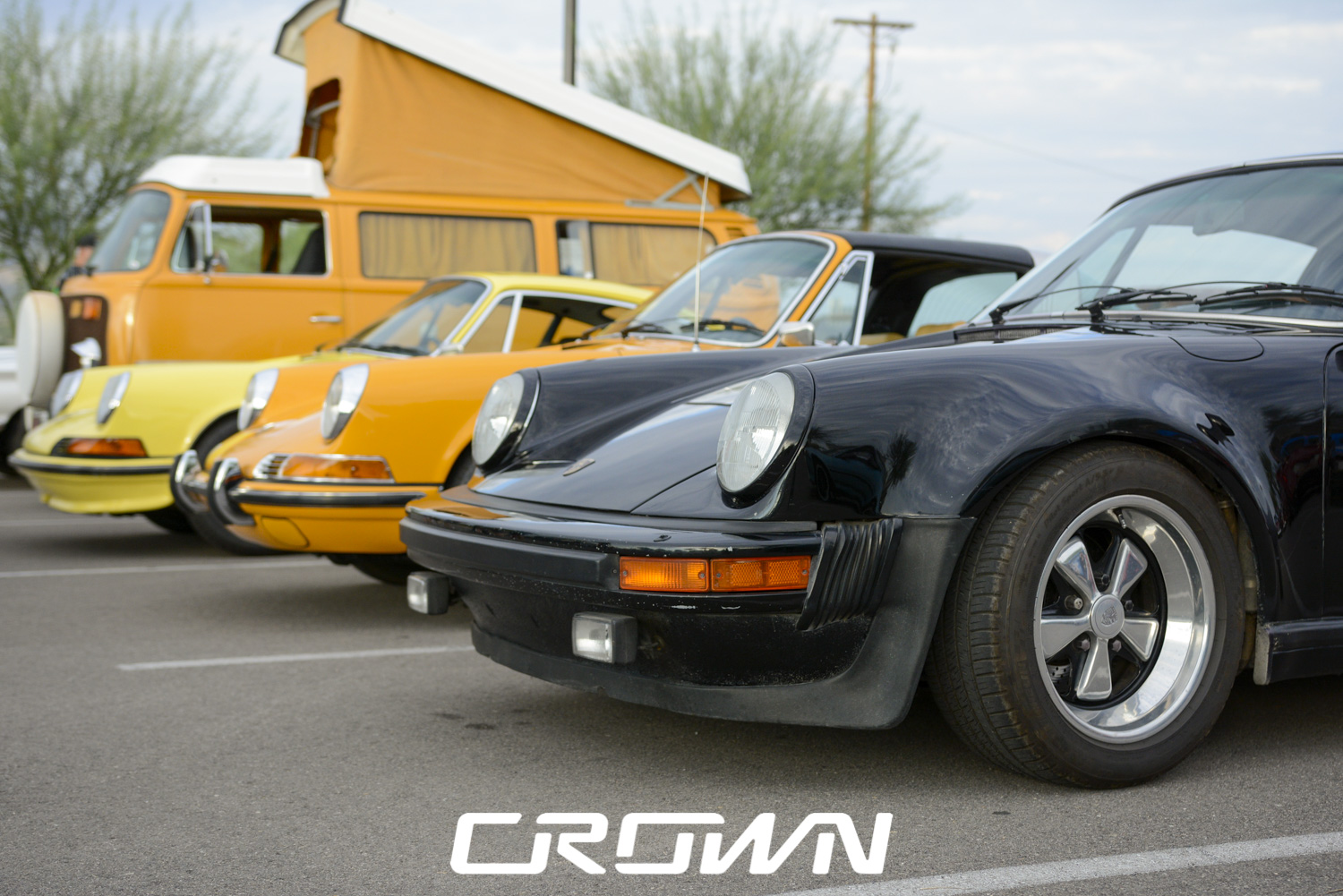 Air cooled Porsches at topgolf tucson