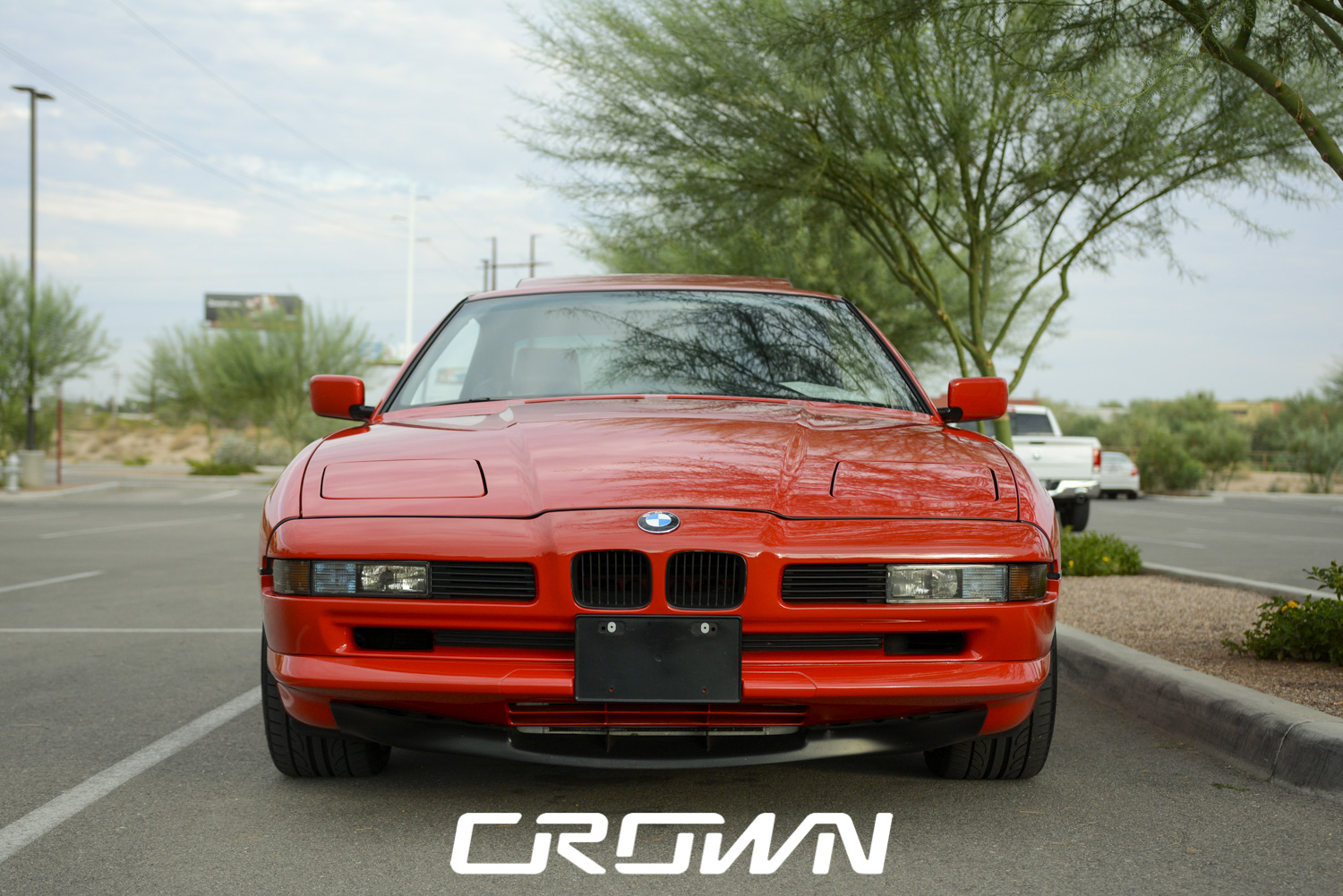 classic bmw 8 series at topgolf tucson