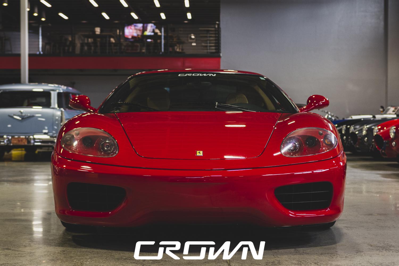 Ferrari 360 Modena at Crown Concepts Tucson Arizona