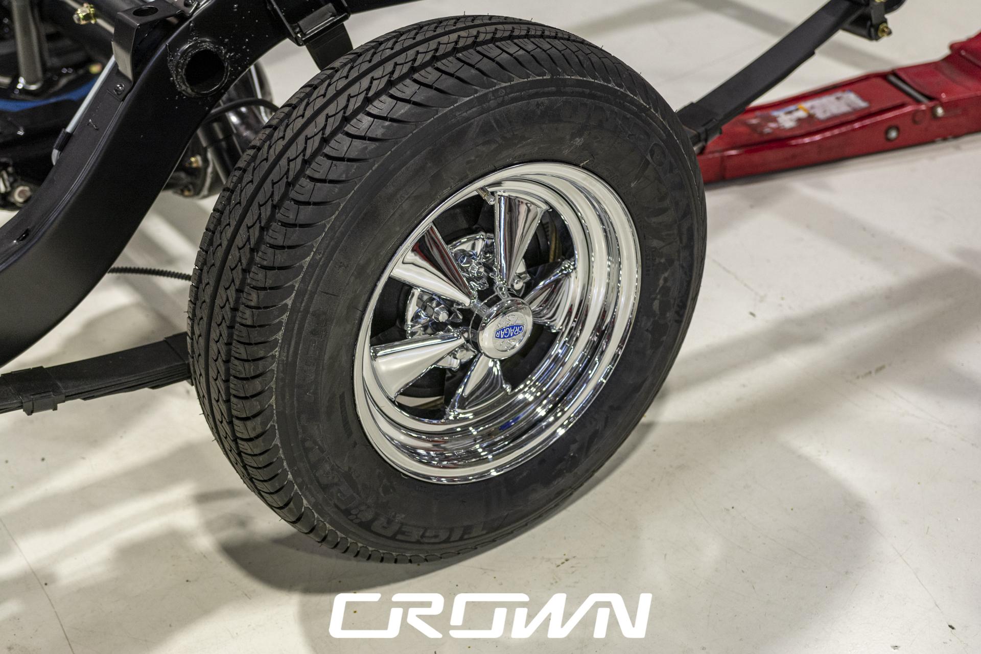 Cragar classic wheels