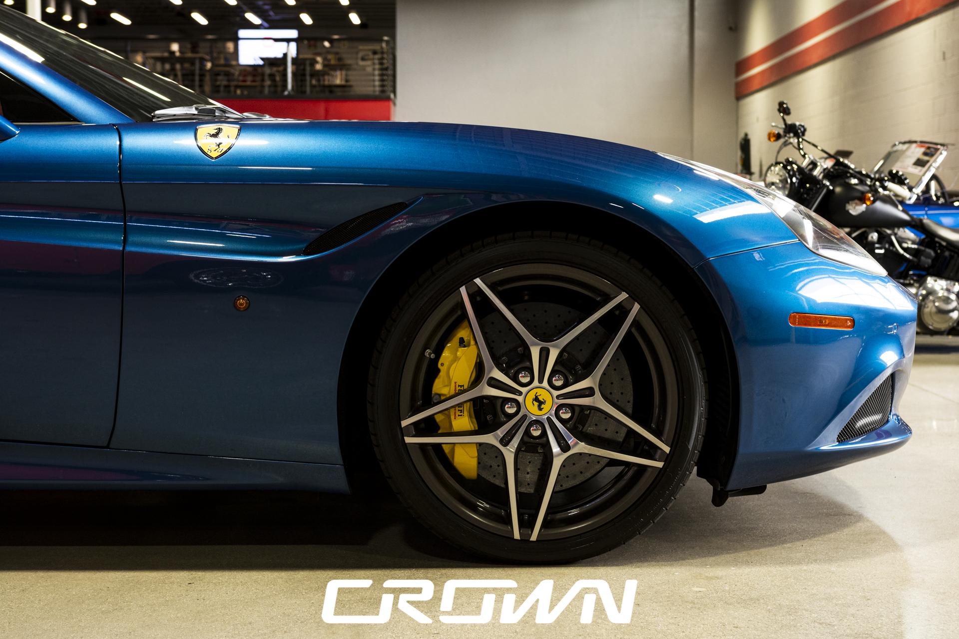2015 Ferrari California T front wheel passenger