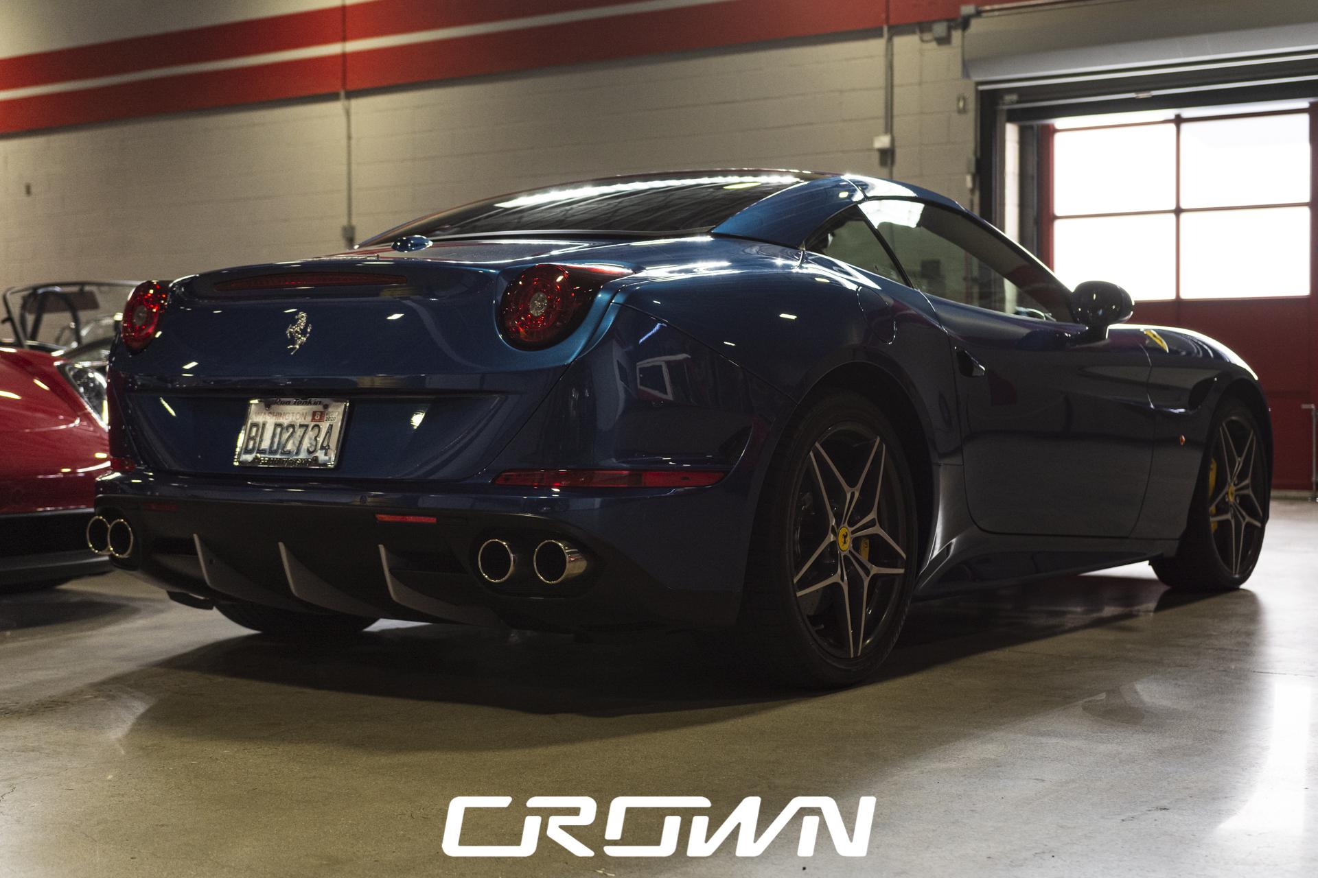 2015 Ferrari California T rear quarter