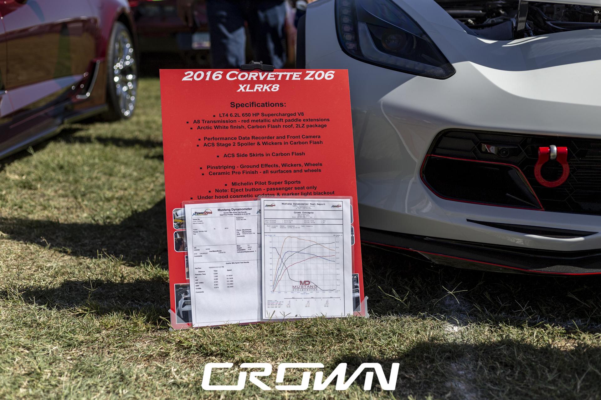 Kate C7 Corvette Z06 Tucson Classic Car Show