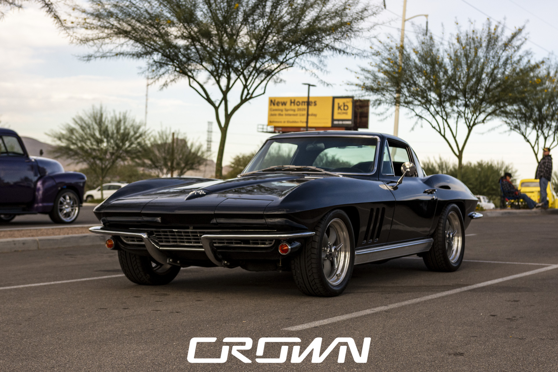 black early model c2 Chevrolet Corvette tucson Arizona