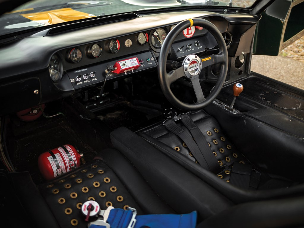 Jim Click 1966 Ford GT40 MKI interior