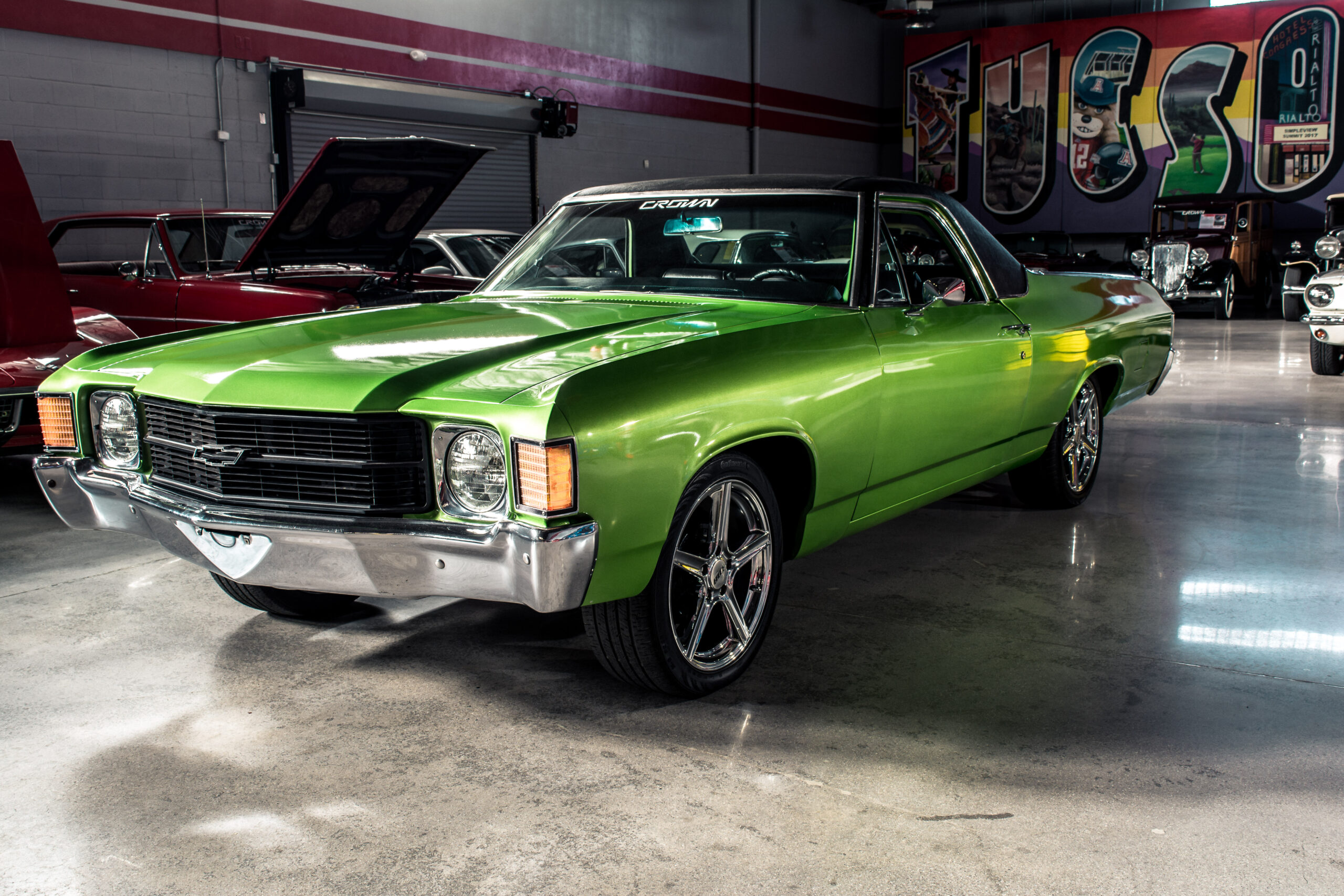 1971 Chevy El Camino Green
