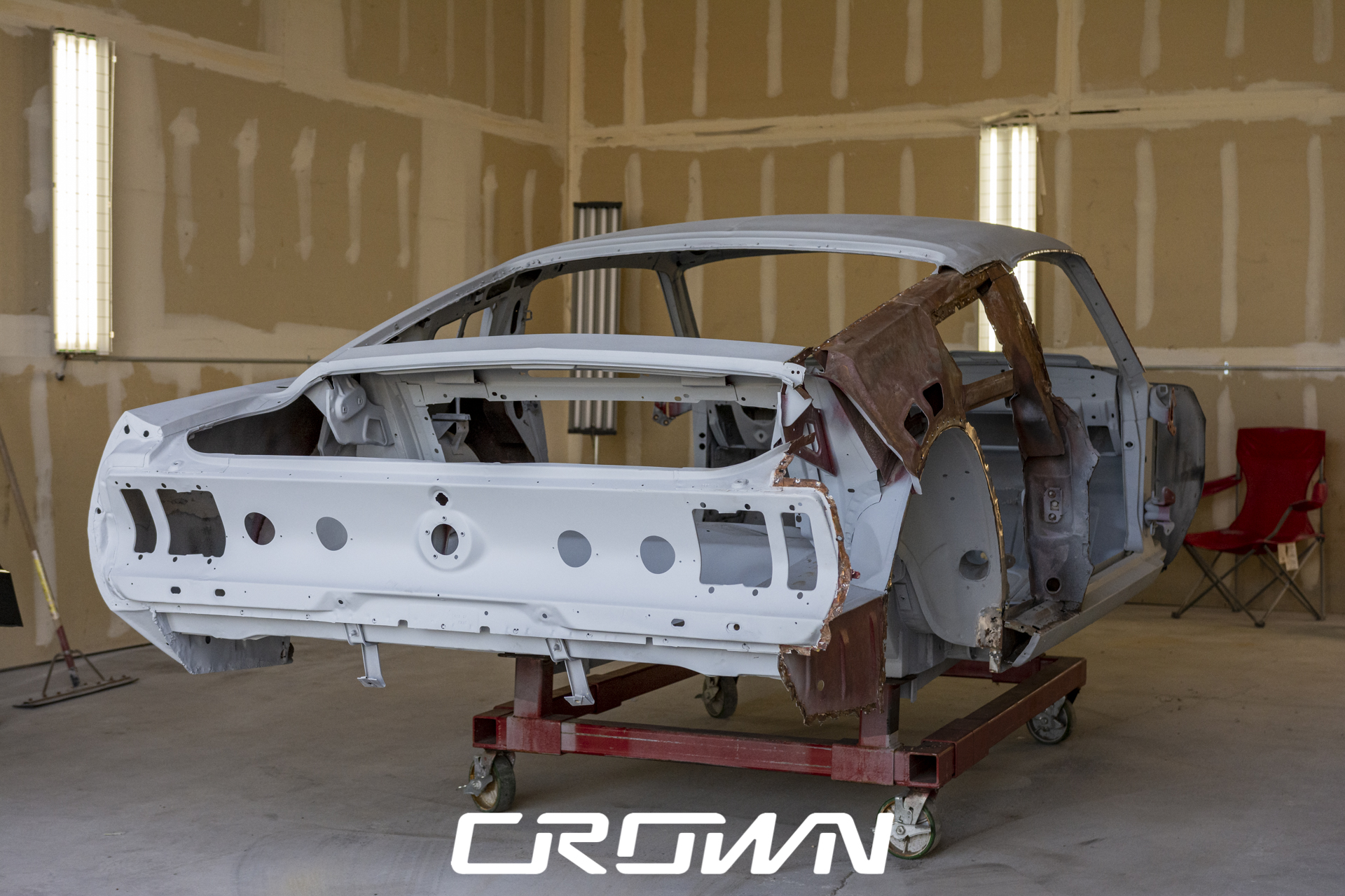 1968 Shelby GT500 Restoration: Body and Paint