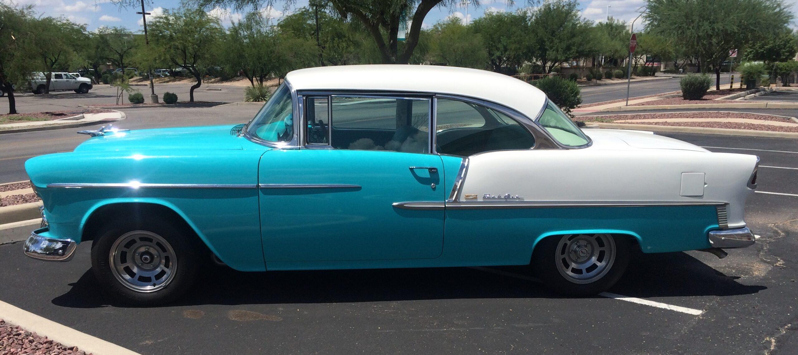 1955 Chevrolet Bel Air Resto-Mod Build