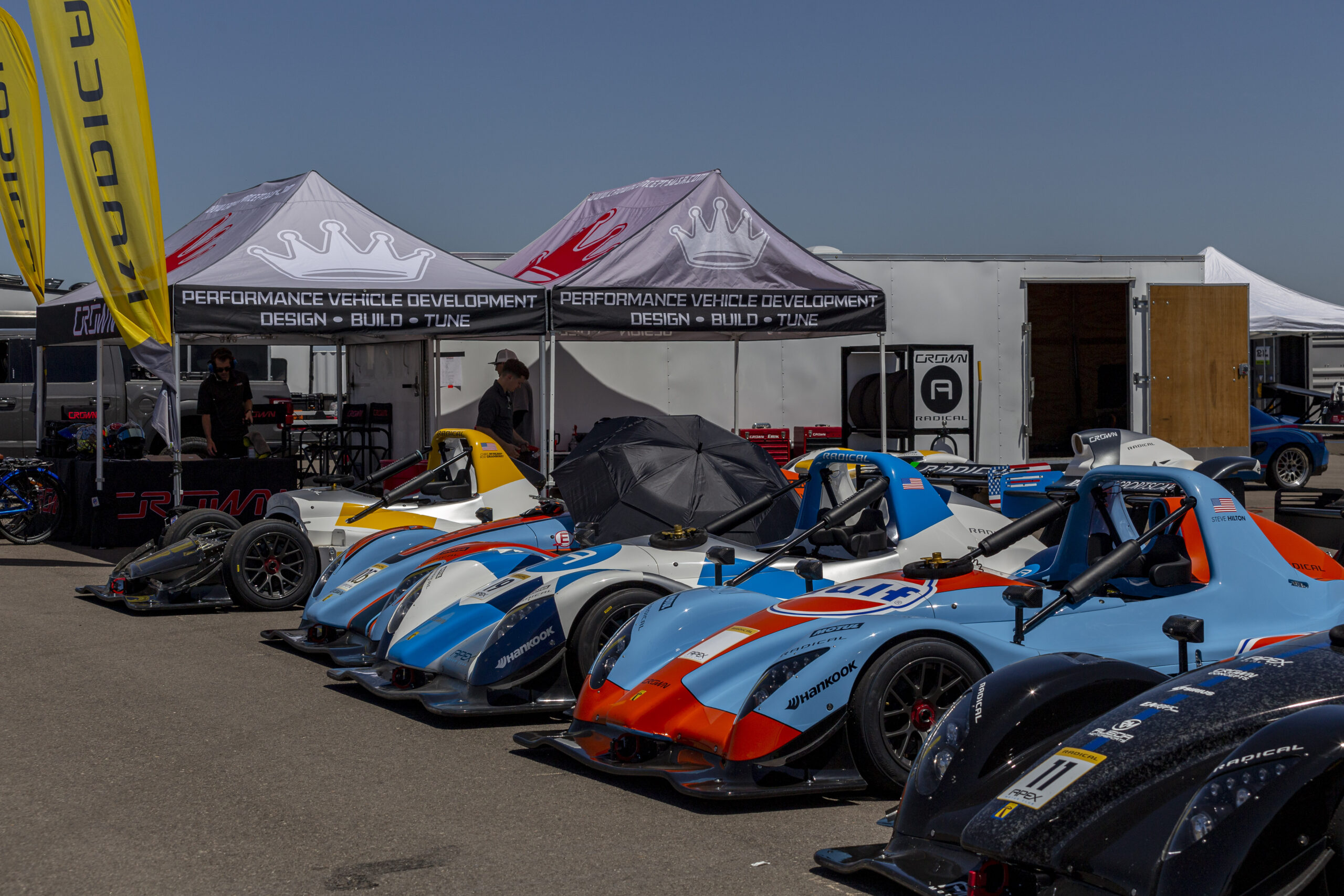 Radical Sportscars Track day at Apex Motor Club