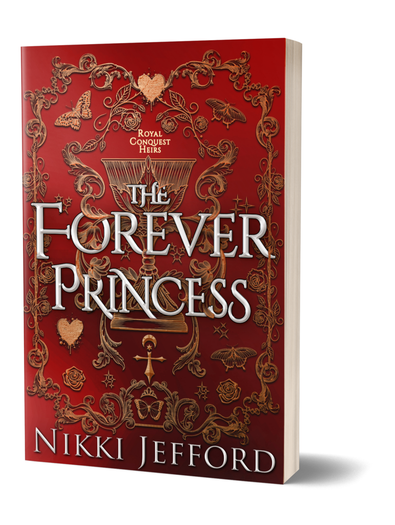 This image has an empty alt attribute; its file name is TheForeverPrincess_PaperbackMockUp-771x1024.png