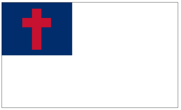 Christian Flag-Large