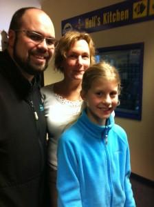 Rob Murray, Karen and Gemma