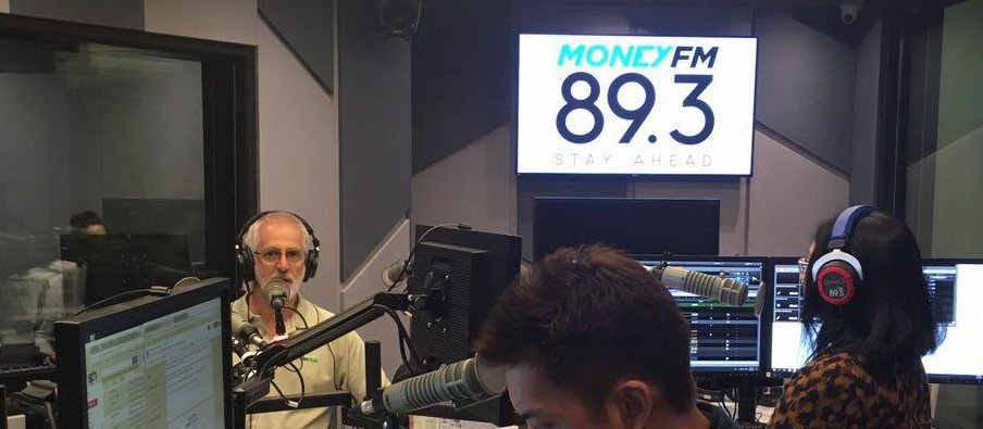 Interview with Mark Berry by Singapore's MONEY FM 89.3