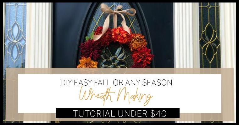 How To Make This Beautiful Fall Wreath Your Neighbors Love