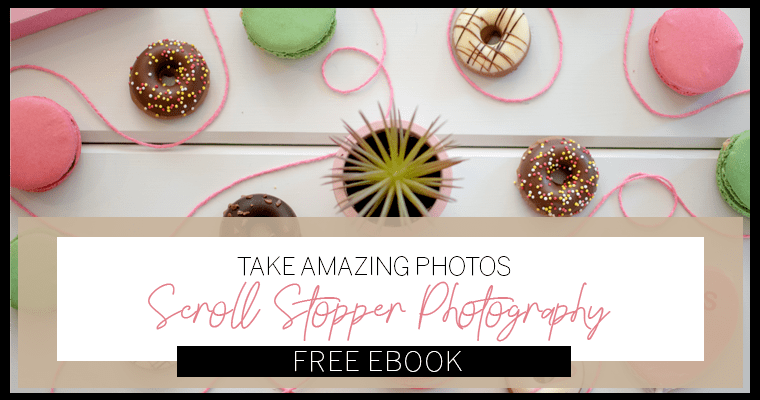 How To Take Pictures Like A Professional + Free Ebook