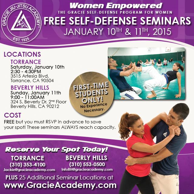 Free Self-Defense Seminars