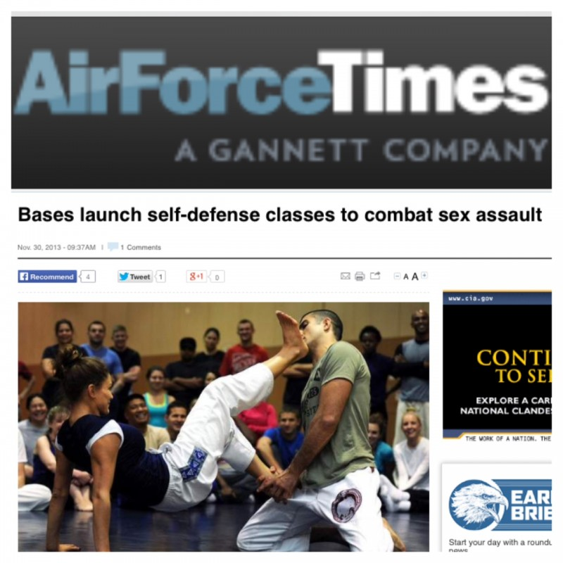 Air Force Times Article