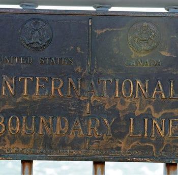 US Canada Border