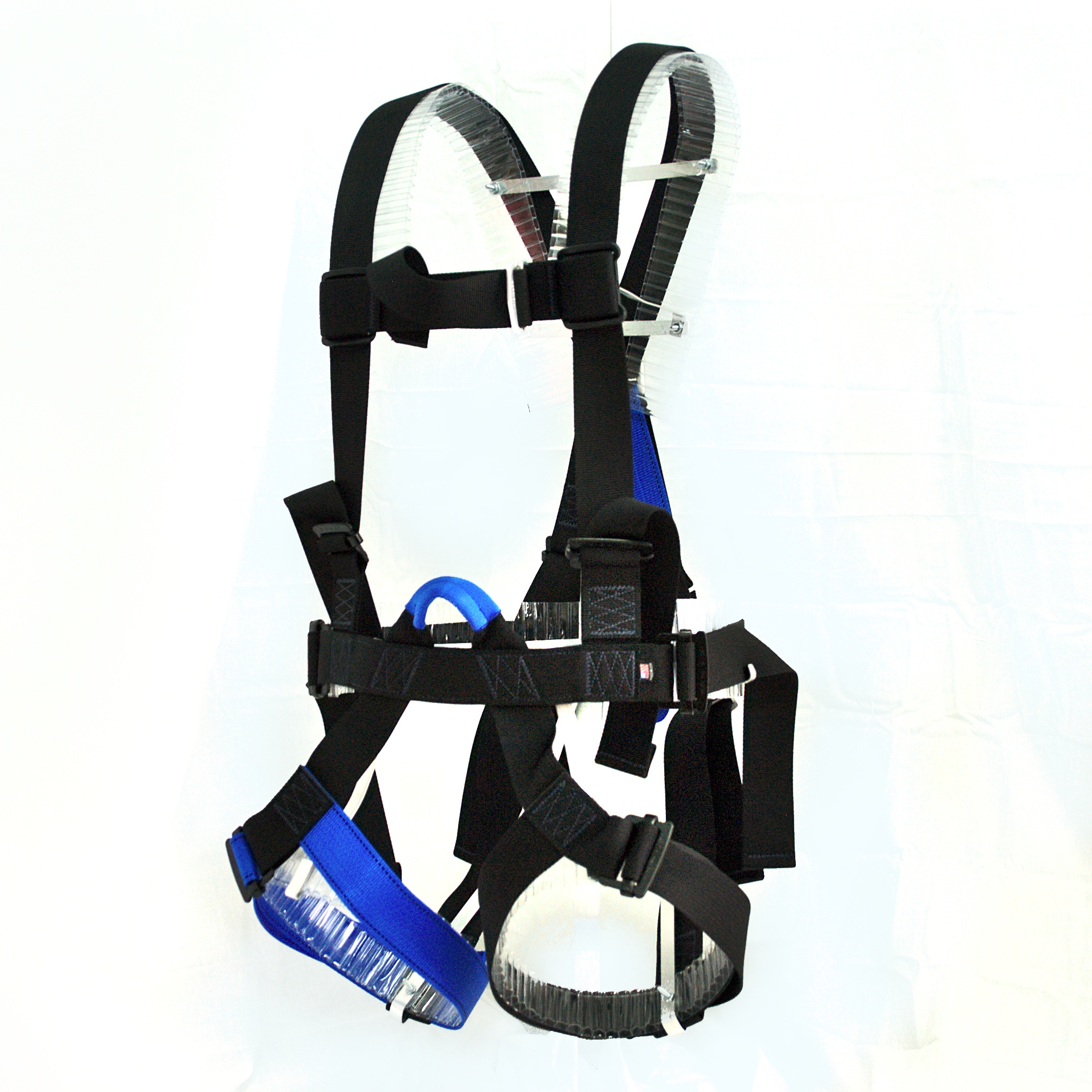 CRC 600 w/ Adjustable Dorsal - ANSI/ASSE Z359.11-2014  (Medium / Blue Belay)